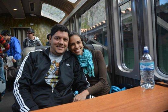 PeruRail - Vistadome: Com minha Esposa