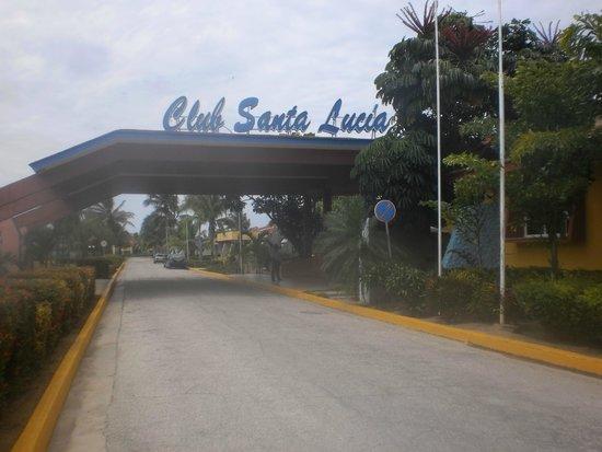 Hotel Roc Santa Lucia (Ex Gran Club) : l entré de Hotel