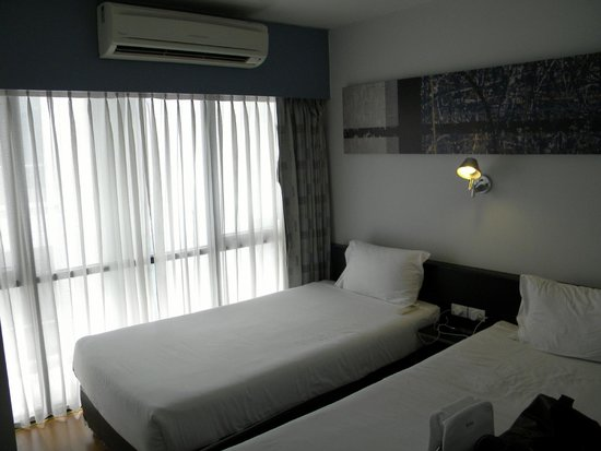 Citadines Sukhumvit 11 Bangkok: Guest room with twin beds