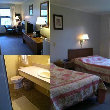 Trollhaugen Lodge, LLC: Motel double beds