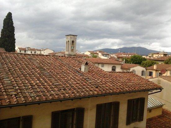 Albergo Hotel Panorama Firenze : вид из окна номера