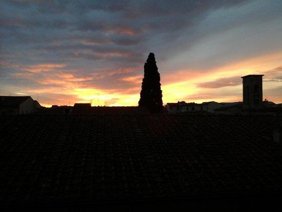 Albergo Hotel Panorama Firenze: закат