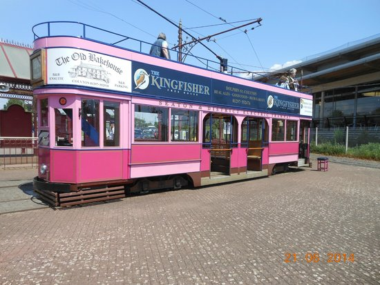 Seaton Tramway: The tram on which we travelled