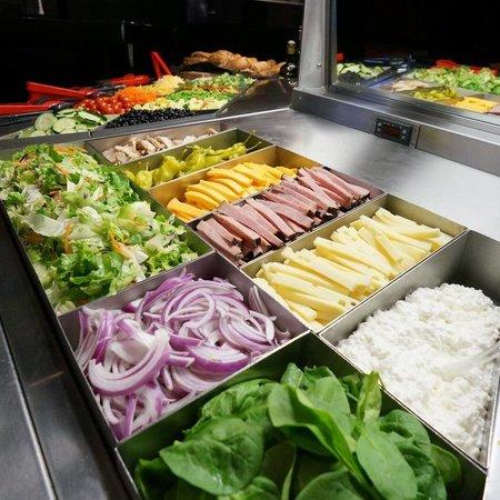 Charlie Brown's: Salad. Bar. Enough said.