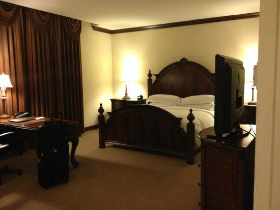 Hilton Fort Worth : Comfy bed