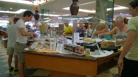 Hotel Best Tenerife : Buffet Toetjes