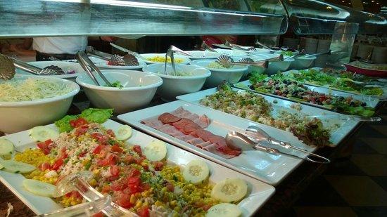 Hotel Best Tenerife : koude Buffet
