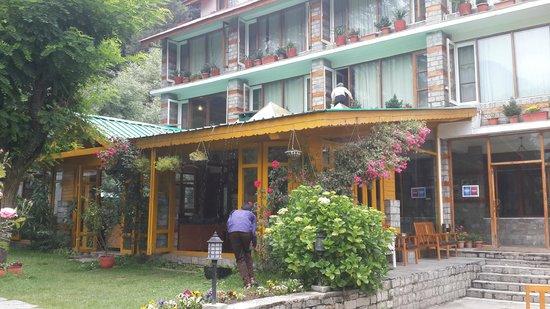 Johnson Lodge & Spa : Hotel Exteriors
