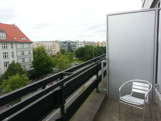 Ivbergs Hotel Berlin Messe: Balcony View