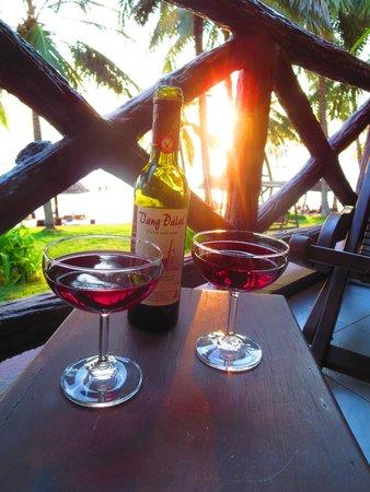Saigon Phu Quoc Resort: vietnamesischer Wein