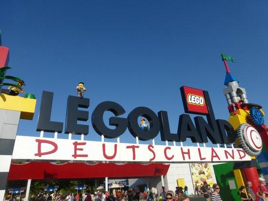 Legoland Duitsland: Entrance
