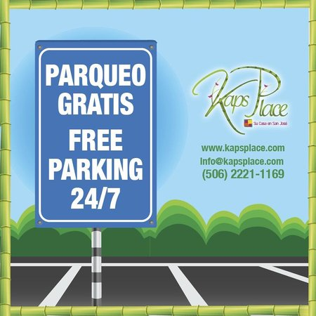 Kaps Place: We offer FREE PARKING for all our guests!