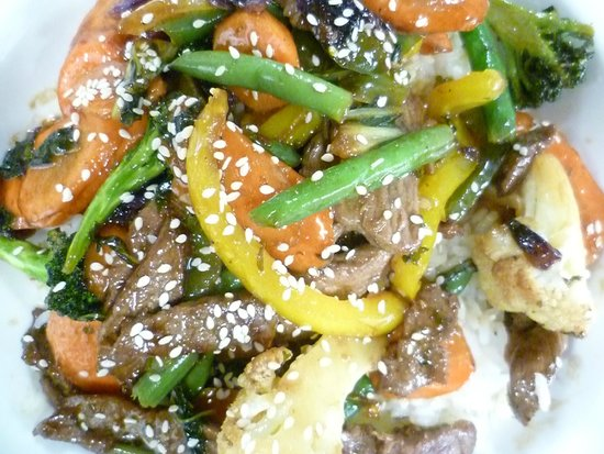 The Hungry Chef : Beef Stirfry