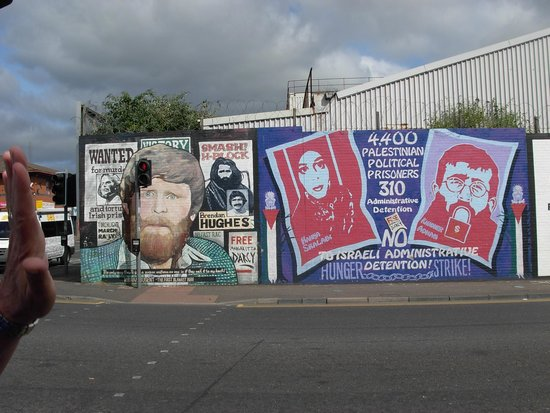 Belfast Mural Tours: One of the many Murals we visited on the tour.