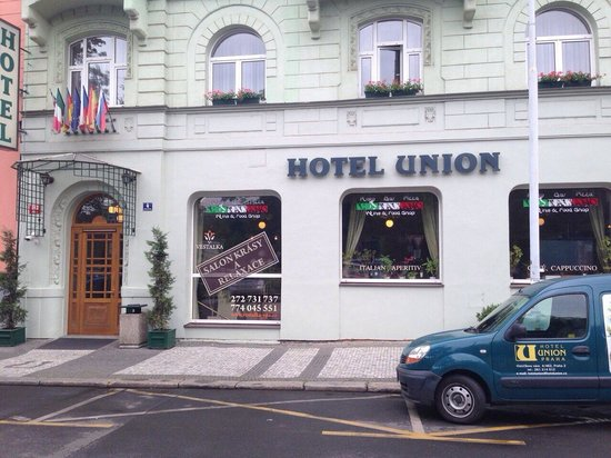 Hotel Union Prague: Very nice hotel in a quiet area and well located