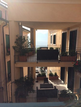 Hotel del Porto: Blick aus unserem Zimmer