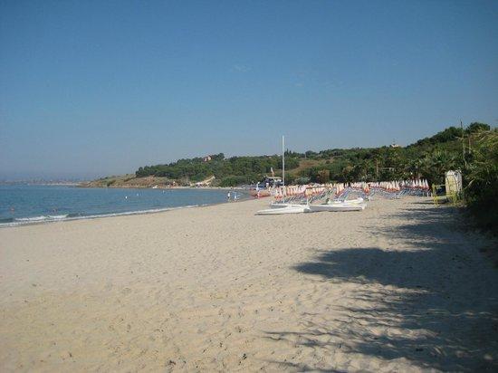 Club Lipari Hotel : пляж