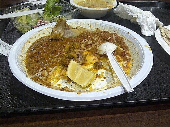 Golden Crown: Supposed mutton curry turned out to be tomato gravy, tasteless!|