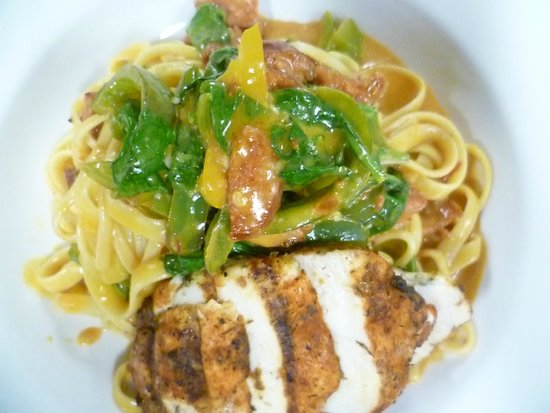 The Hungry Chef - TEMPORARILY CLOSED: Spicy Chicken Carbonara