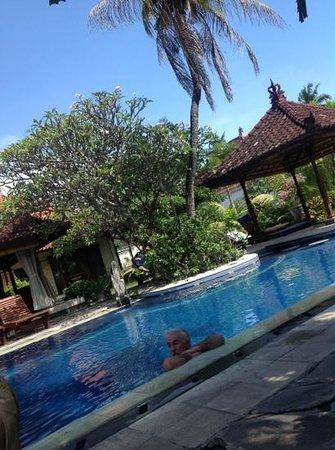 Taman Agung Hotel: nice pool often empty