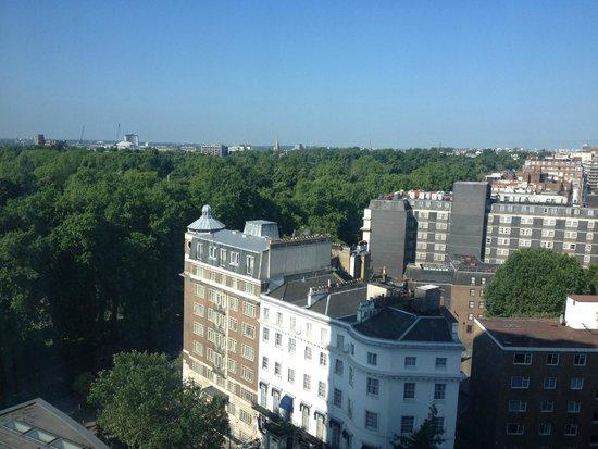 Royal Lancaster London : Vista Cidade apto - à esq Hyde Park