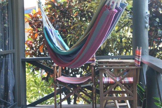 Palm Bungalows: terrace