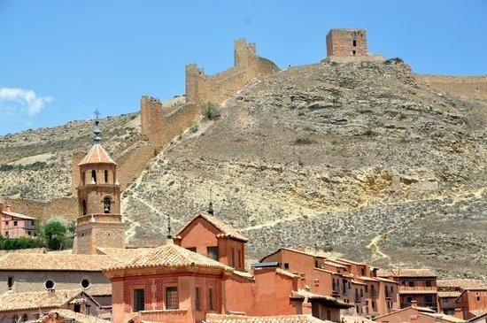 Albarracín: vista de la muralla