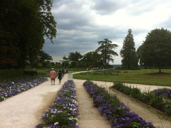 Domaine de Chaumont-sur-Loire : The garden front the castel