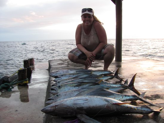 Paradise Taveuni : Our catch!