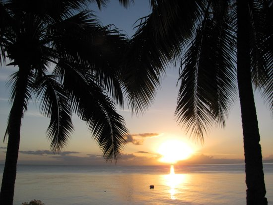 Paradise Taveuni : Sunset from Taveuni