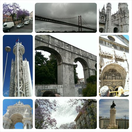 City Sightseeing Lisbon : sights from the bus