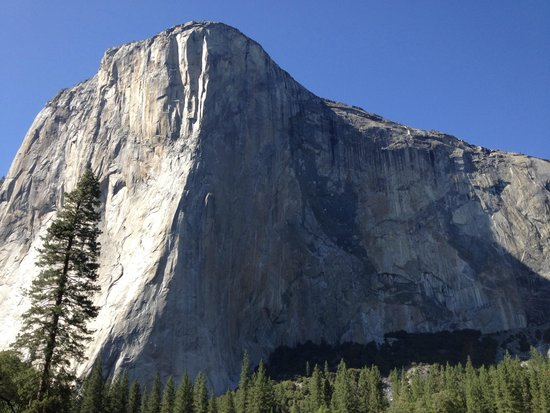 El capitan with climbers - Picture of Yosemite Valley Lodge
