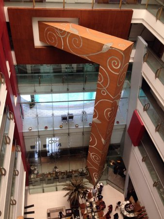 The Regenza by Tunga: A view from 6th floor of the lobby