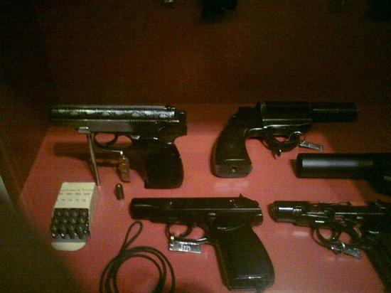 Waffenmuseum Suhl: Kriegswaffen.