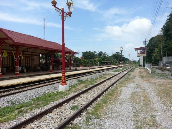 Hua Hin Railway Station : The famous Hua Hin train station which is still in use.