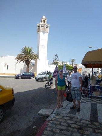 """Medina de Túnez: площадь у """"Черных ворот"""""""