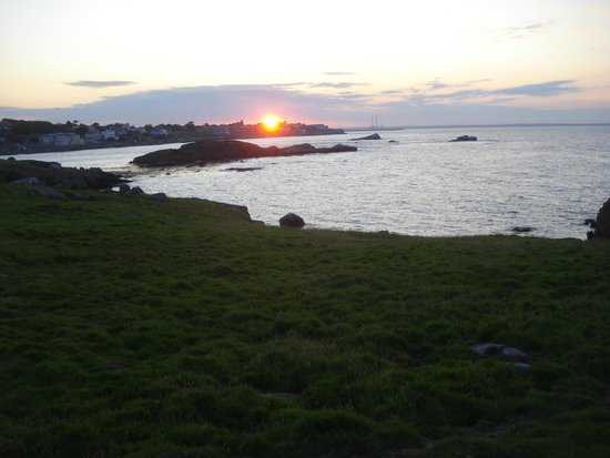 Acara House B&B : View from Dalkey island