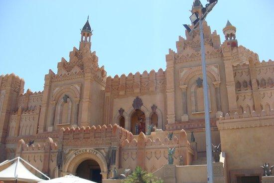 Kings City: Величественный вход в город Короля