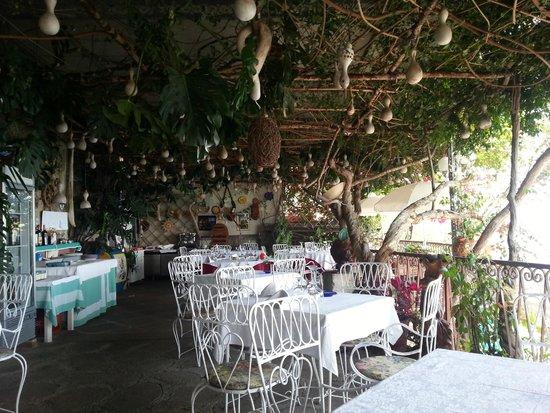 Al Barilotto Del Nonno: Terrasse