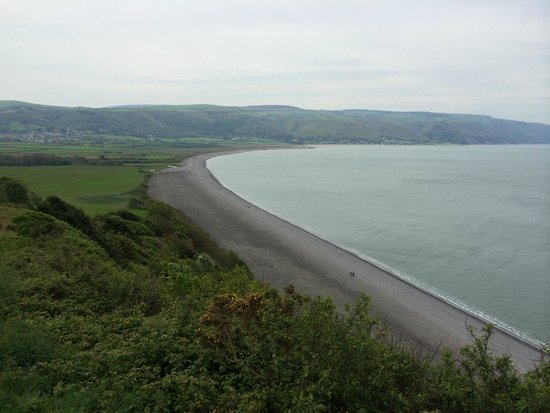 West Hollowcombe Self Catering Cottages: View of Porlock from Bossington