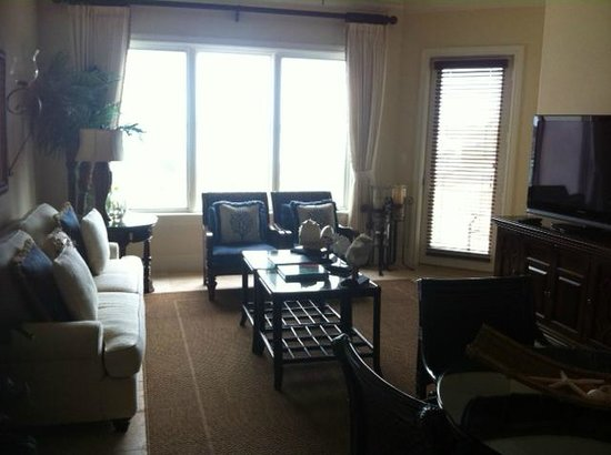 Grand Isle Resort & Spa : Arawak 1 Bedroom Ocean View, Sitting area