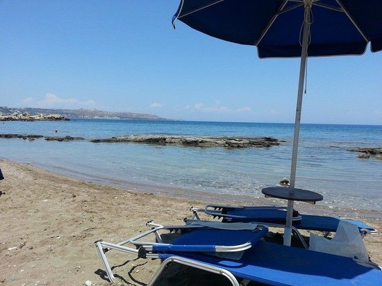 Faliraki, Grecia: The beach