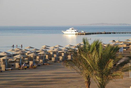Hilton Hurghada Long Beach Resort: vores udsigt