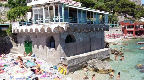 Bagni Internazionali Capri: il  ristorante