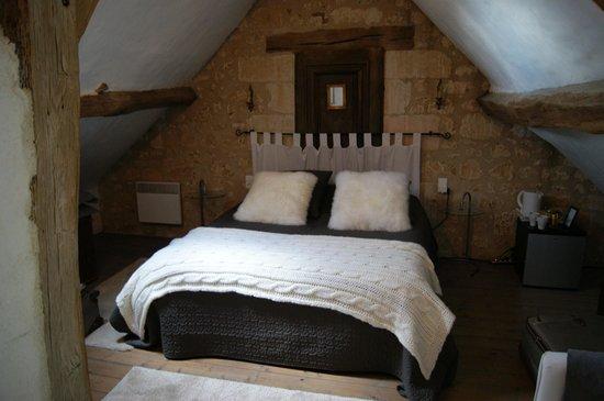 Domaine de Givré : our comfy room