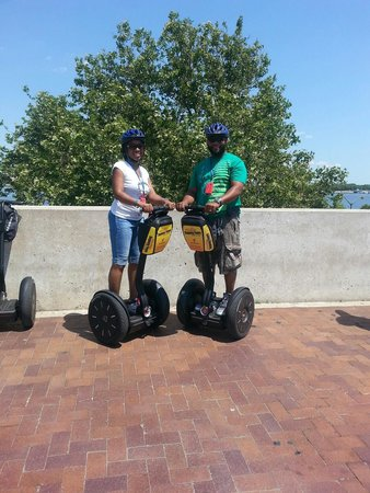 Philadelphia Segway Tours by Wheel Fun Rentals: perfect date!