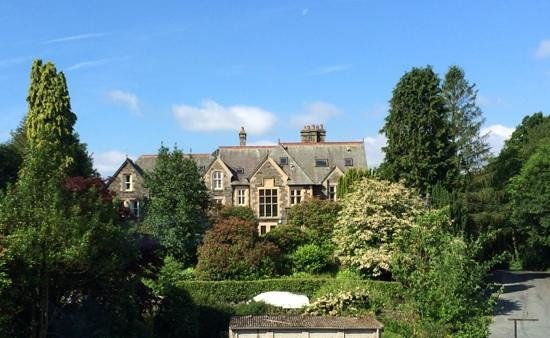 mylne bridge house: The vicarage, viewed from our window