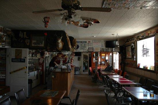 Last Chance Saloon: Inside.