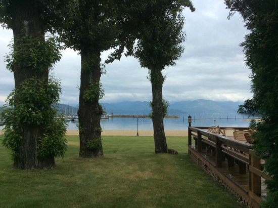 BEST WESTERN Edgewater Resort: outside our door