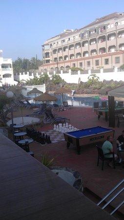 Marola Portosin: pool view from balcony